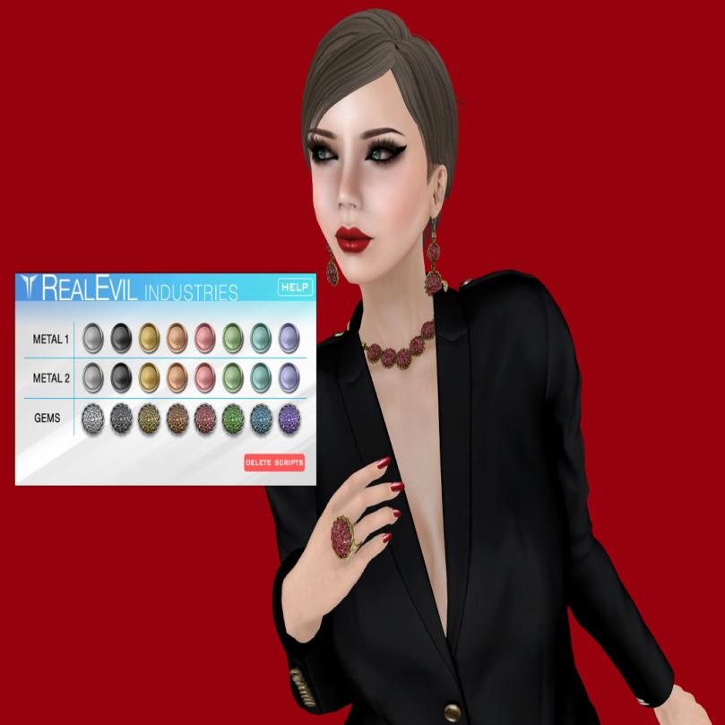 LUX Mia set,RealEvil @ Jewelry Fair